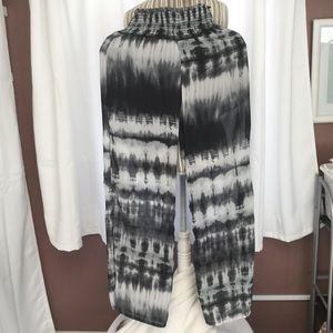 See you Monday tie dye print beach pants sz M